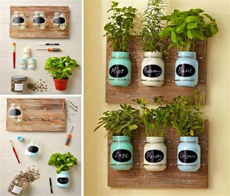 diy mason jar herb garden ideas  whoot
