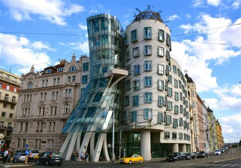 dancing house the ten best works of legendary architect frank gehry
