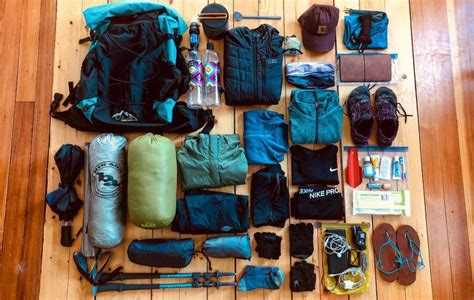 backpacking essentials complete trip checklist  greenbelly meals