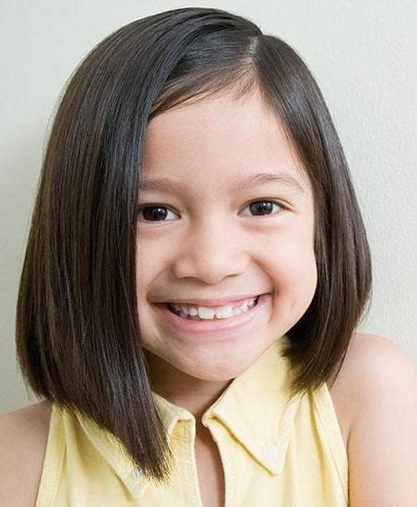 angeled bob hairstyle for toddler 15 bob haircuts for kids