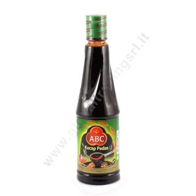 Kecap Abc Pedas abc kecap pedas salsa piccante 24x275ml global trading srl
