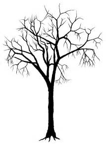 silhouette of a tree clipart best