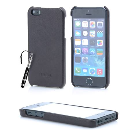 Casing Leather Back Cover Iphone 5 5s D hoco premium leather back cover for apple iphone 5 5s se 2016 ebay