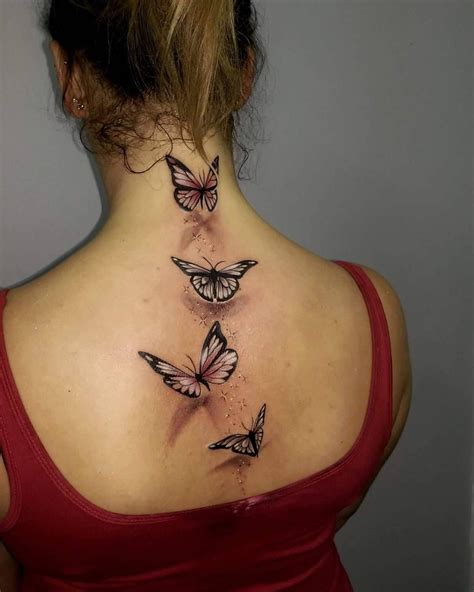 3d tattoos butterfly amazing butterfly back pinteres