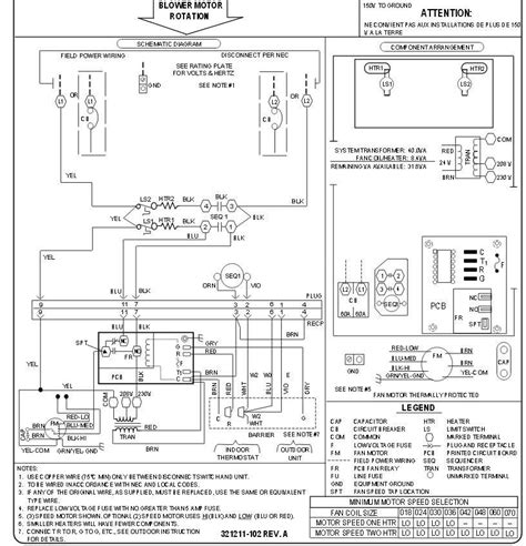 payne heat wiring diagram blower motor payne ac unit