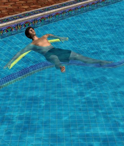 free aqua exercises abs and lower back exercises in the pool