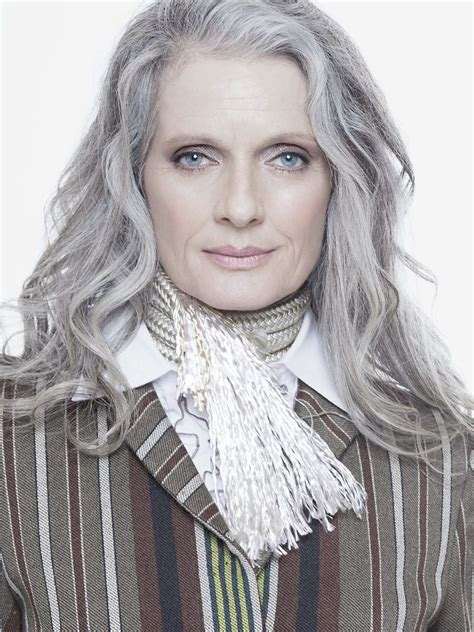 Hair Styles For With Gray Hair by 1428 Best Gorgeous Gray Hair Images On Silver