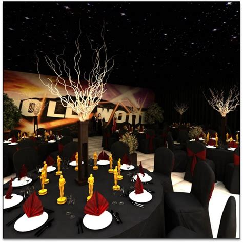 oscar themed decoration ideas oscars unforgettable events