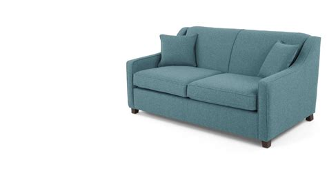 sofa bed teal weave made