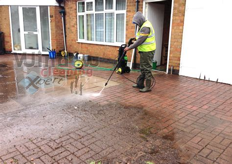 Cleaning Patio by Window Cleaning Xpert Driveway Cleaning Leicester