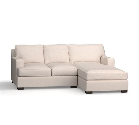 Townsend Sofa by Townsend Upholstered Square Arm Sofa With Chaise Sectional