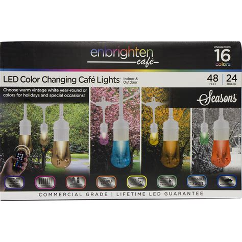 enbrighten led cafe lights outdoor and indoor led lighting jasco enbrighten caf 233 lights
