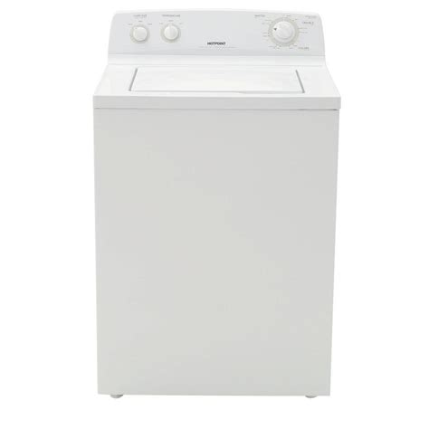 hotpoint top load washer images