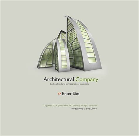 architecture company 10 architecture website templates with 3d effects