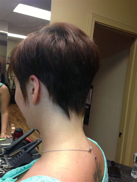 pictures of back of short haircuts heads short hair punky back of head my style pinterest