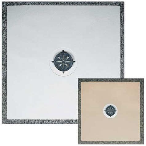 Shower Bath Mat Drain Hole 24x24 shower mat with center hole