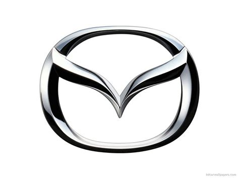 mazda car logo wallpaper in 1024x768 resolution