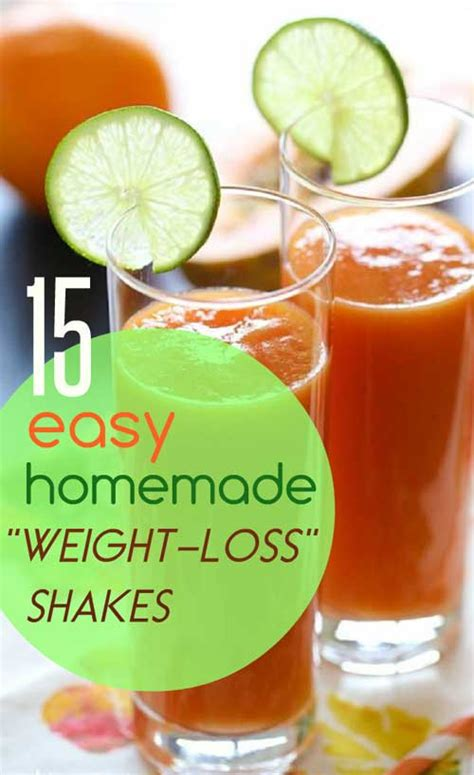 1 weight loss shake 15 simple weight loss shakes