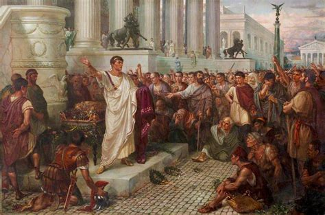 themes in julius caesar act 4 scene 3 julius caesar act iii scene 2 marc antony s oration