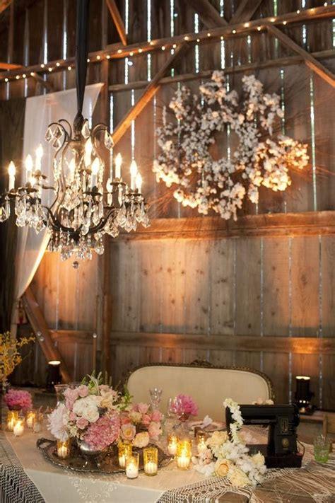 Barn Decorations by Barn Wedding Wedding Lights Barn Chandeliers 2069046