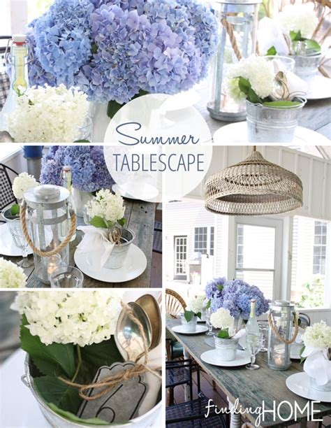 summer home decor ideas decorating ideas summer tablescape finding home farms