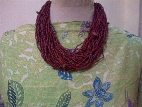 kalung manik bali 3 necklace kalung