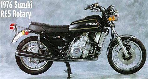 Suzuki Rotary Suzuki Re 5 Rotary 1974 1976