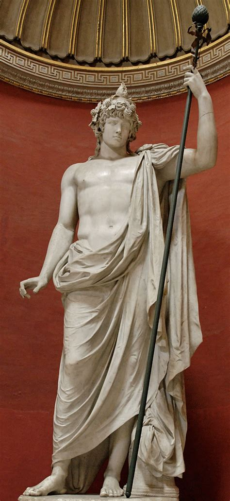 dionysus god statue god dionysus dionysus was the of zeus and semele dionysus also called bacchus