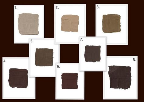 best brown paint colors best brown paint colors home ideas
