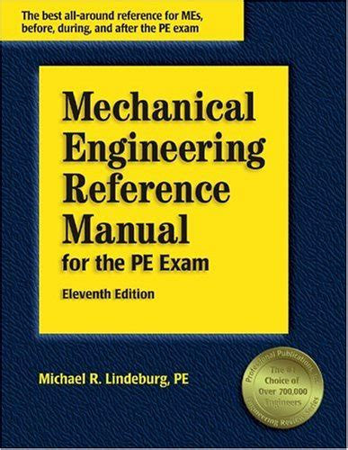 mechanical engineering reference manual for the pe 13th ed courses after 12th science courses after 12th science