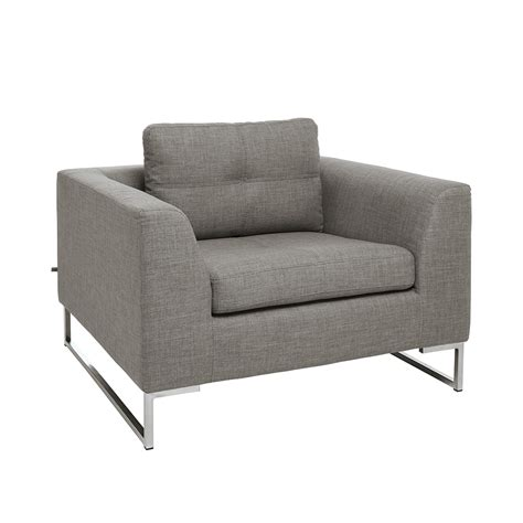 dwell armchair vienna fabric armchair light grey dwell