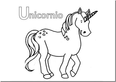 imagenes de unicornios infantiles para colorear dibujo unicornios para colorear jugarycolorear