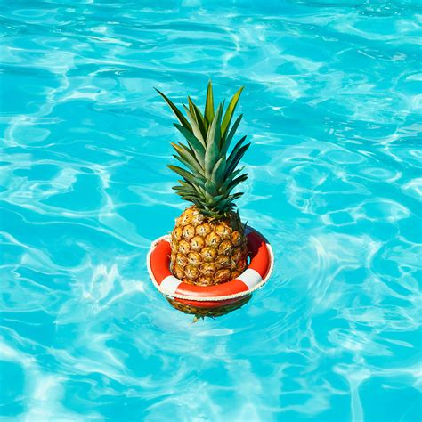 pineapple waves summer heat wave pineapple on behance by paloma