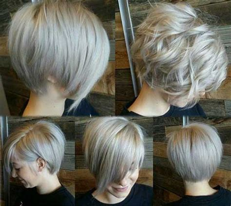 back views of gray hair styles 40 best short hairstyles 2014 2015 the best short