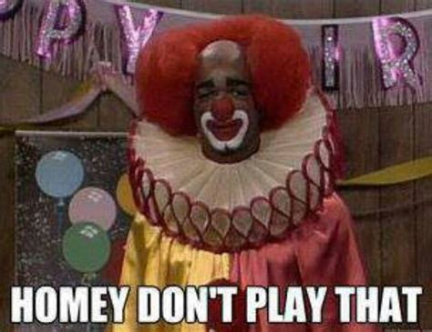 in living color clown in living color smile