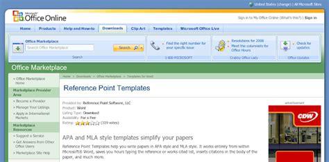 office 2007 apa template apa template word 2007 free