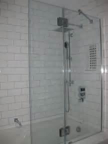 subway tiles showers