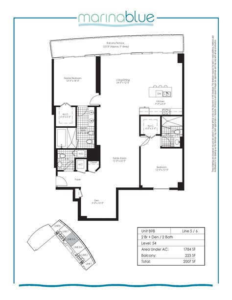 marina blue floor plans a look at the largest non penthouse floor plan at marinablue