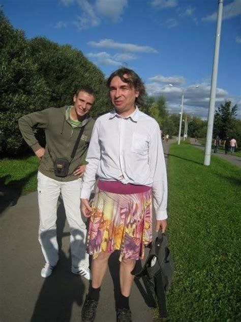 in kineshma russia 44 year old vladimir fomin become somewhat famous the story of a man who refuses to wear pants and only puts