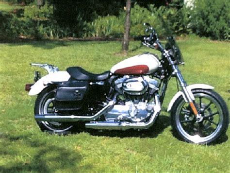 Harley Davidson White Brown 2012 harley davidson 174 xl883l sportster 174 883 superlow