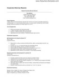 Business Lawyer Sle Resume by Attorney Resumes Resume Format Pdf