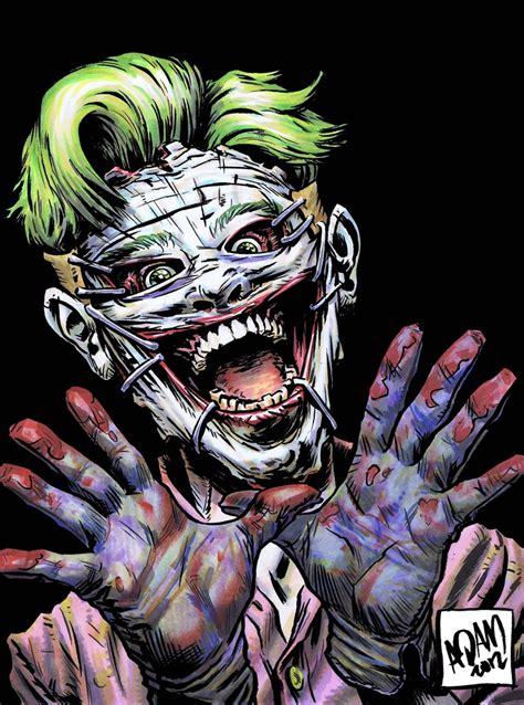 imagenes de joker new 52 joker vs luther strode battles comic vine