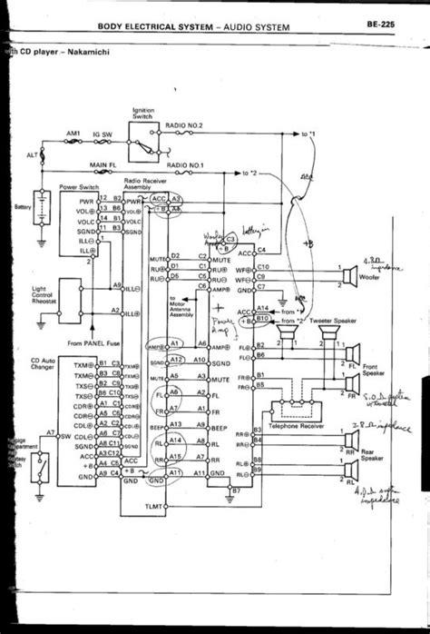 nakamichi lexus sc400 diagrams wiring free