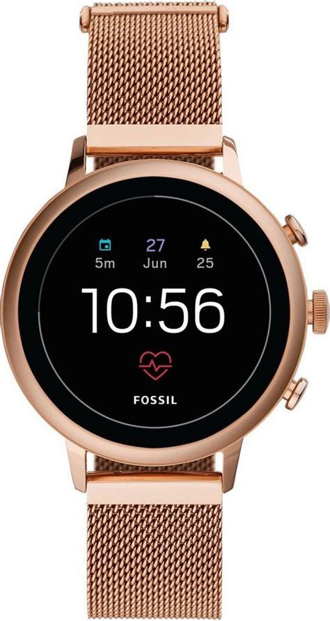 fossil smartwatches venture hr ftw smartwatch mit
