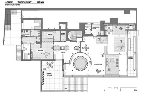 villa tugendhat floor plan tugendhat house by ludwig mies der rohe at brno republic 1930 tugendhat vila