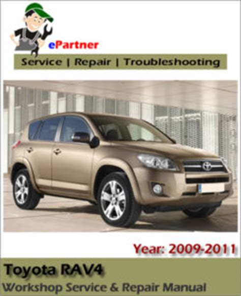 car repair manuals online pdf 2003 toyota rav4 seat position control toyota rav4 2009 2010 2011 service repair workshop manual