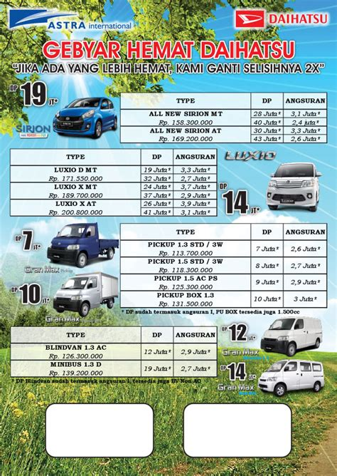 daihatsu promo 2016 new car release date and review 2018