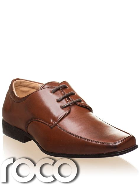 Formal Brown Shoes boys black shoes boys brown shoes prom shoes page boys