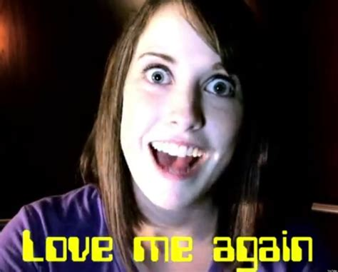 Laina Meme - overly attached computer samsung commercial taps creepy