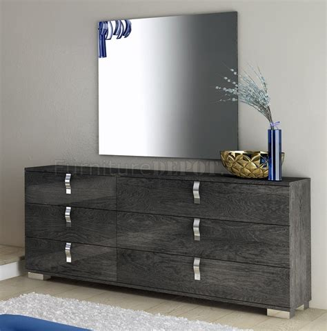 grey high gloss bedroom furniture sarah bedroom in high gloss grey by at home usa w options